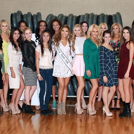 Shanna Moakler, Brittany Mcgowan and Geovanna Hilton Host Official Miss Nevada USA Orientation at Life Time Athletic Green Valley