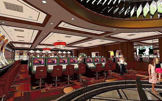 Golden Gate Hotel & Casino - artist's rendition