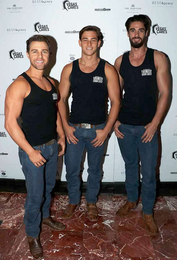 """Thunder From Down Under at """"Vegas Cares"""" Benefit at The Venetian Las Vegas"""