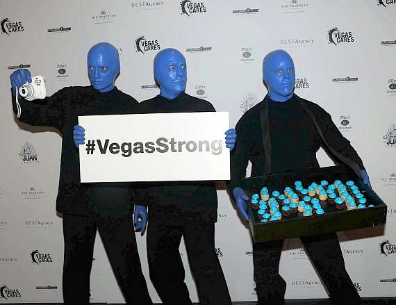 "Blue Man Group at ""Vegas Cares"" Benefit at The Venetian Las Vegas"