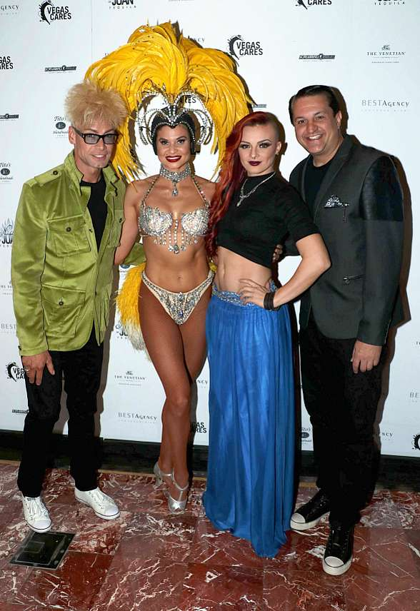 "Photo Gallery: Celebrities Walk the Red Carpet at ""Vegas Cures"" Benefit at The Venetian Las Vegas"