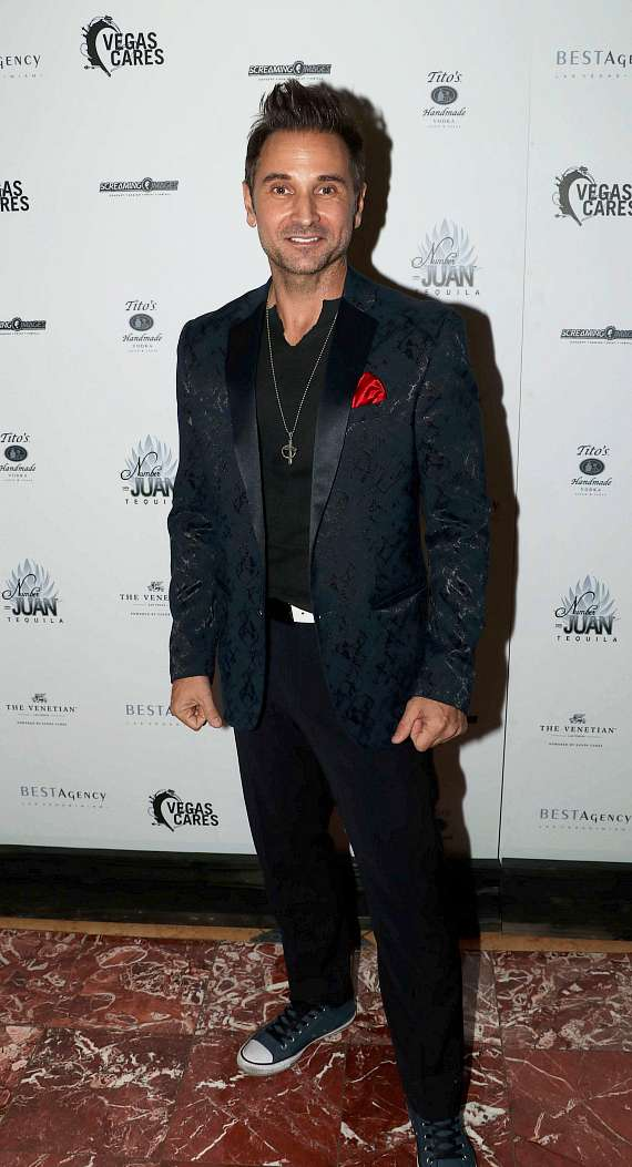 "Travis Cloer at ""Vegas Cares"" Benefit at The Venetian Las Vegas"