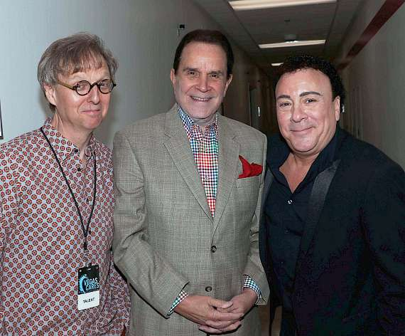 Mac King, Rich Little and Frankie Scintas