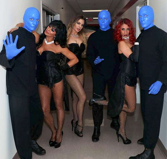 "The Blue Men Group with Jennifer Romas & Cast of ""Sexxy The Show"""