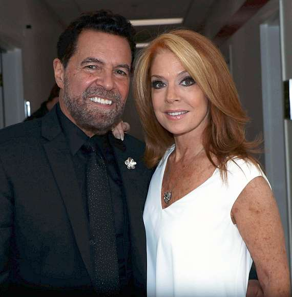Clint Holmes and Kelly Clinton-Holmes
