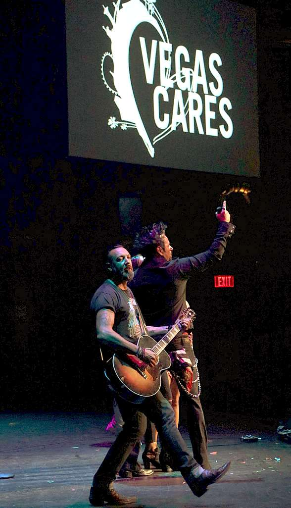 "Photos of the Grand Finale of ""Vegas Cares"" at The Venetian Las Vegas"