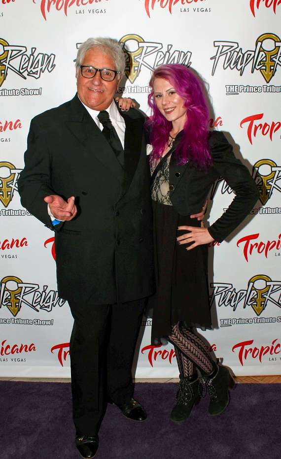British Comedian Lenny Windsor at Purple Reign grand opening