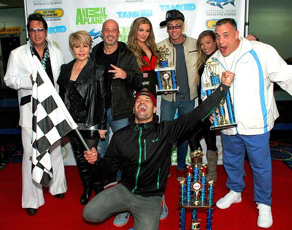 "25th Anniversary of Las Vegas Mini Gran Prix with Animal Planet's ""Tanked"" Stars Wayde King and Brett Raymer, plus Ricardo Laguna, Pia Zadora, Murray SawChuck, Caroline McClain, Jesse Garon and Alexandria Halbauer"