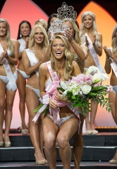 Chelsea Morgensen Crowned 2017 Miss Hooters International at 21st Annual Hooters Swimsuit Pageant held at Palms Casino Resort in Las Vegas