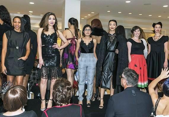 2017 Runway Show for the LVFC Little Black Dress Event