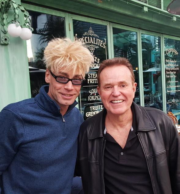 MURRAY has Lunch with Steve Hytner who played Kenny Bania on the NBC series