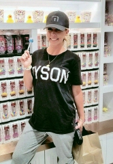 Kendra Wilkinson-Baskett Shops at Sugar Factory American Brasserie Las Vegas at Fashion Show