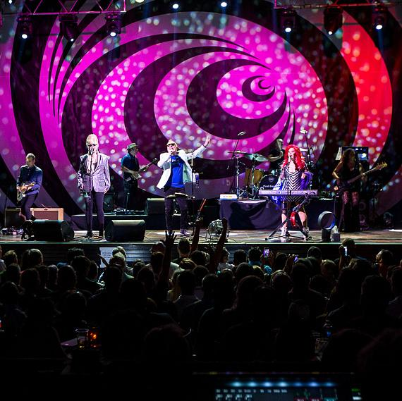 B-52s Perform at House of Blues in Mandalay Bay Las Vegas