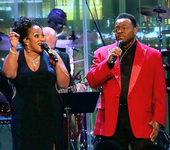 Michelle Johnson and Lanny Counts sing Disney at The Smith Center