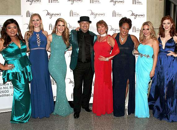 David Perrico and featured singers at The Smith Center