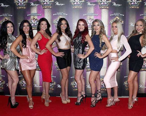 """X Burlesque"" Celebrates Sweet 16 on the Las Vegas Strip at Flamingo Las Vegas"