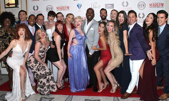 "Cast of ""Marilyn! The New Musical"""