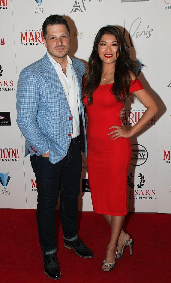 "Mark Shunock and Cheryl Daro at ""Marilyn! The New Musical"""