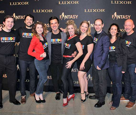 """Cast of """"FRIENDS The Musical"""" at FANTASY calendar event"""