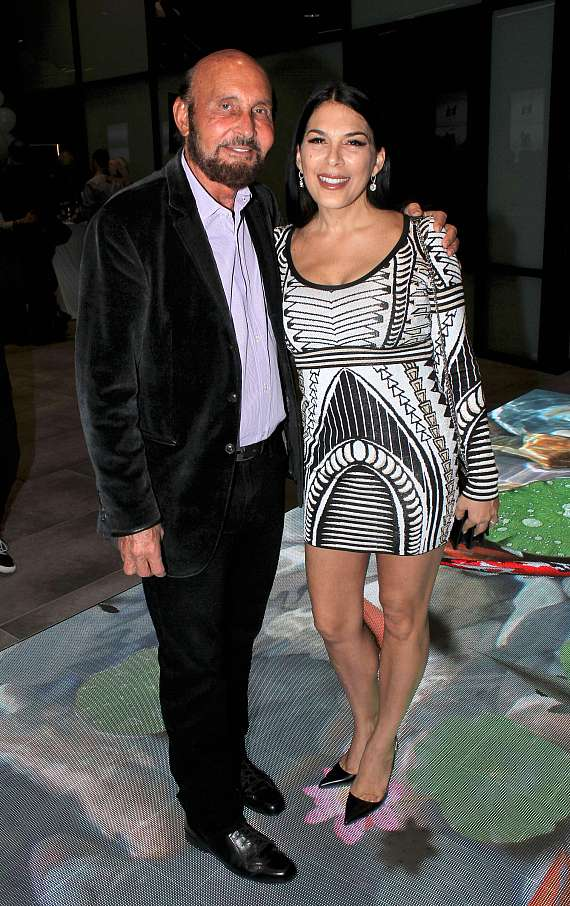 Ed Bernstein & wife at Planet 13 Superstore, the World's Largest Cannabis Entertainment Complex, Opens in Las Vegas
