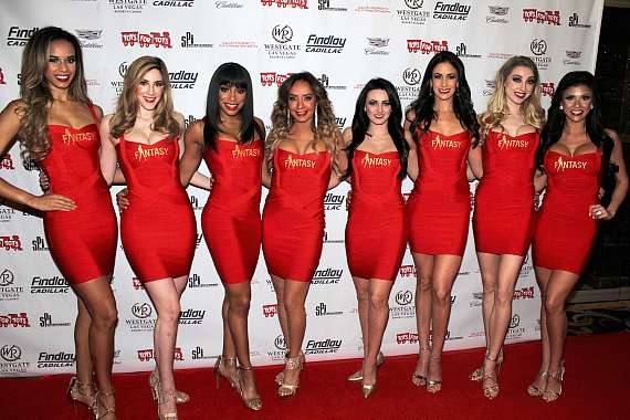 """Cast of FANTASY at """"Toys for Tots"""" Charity Benefit in Las Vegas"""