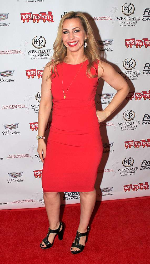 """Shayma Tash at """"Toys for Tots"""" Charity Benefit in Las Vegas"""
