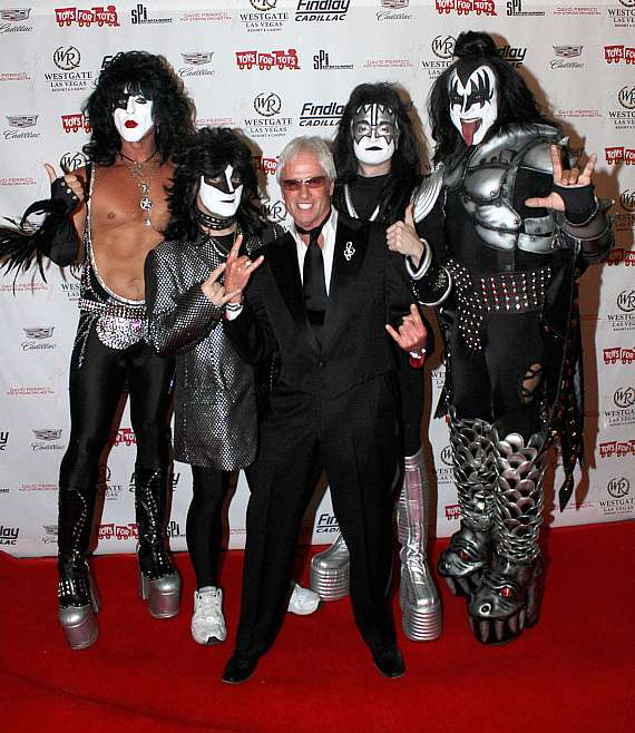 """LJ Harness and """"KISS"""" at """"Toys for Tots"""" Charity Benefit in Las Vegas"""