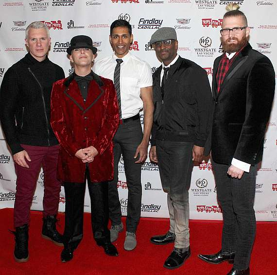 """Mo5aic at """"Toys for Tots"""" Charity Benefit in Las Vegas"""