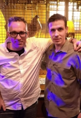 "Director of SAW Movie Franchise, Darren Bousman, Visits ""SAW Escape Experience"" Owner Jason Egan"