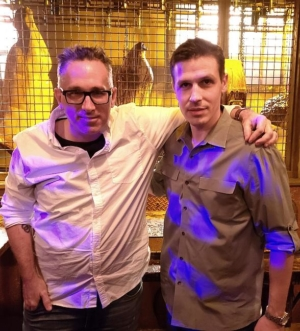 Director of SAW Movie Franchise, Darren Bousman, Visits