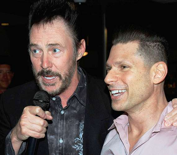 Lance Burton with Mike Hammer