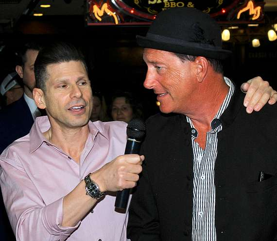 Mike Hammer with Anthony Cools
