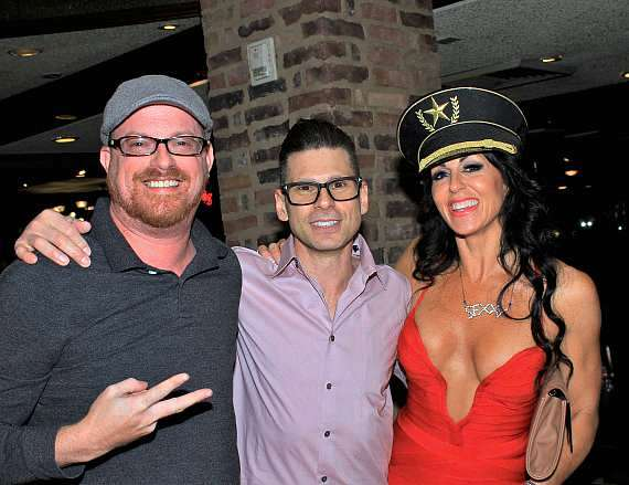 guest with Mike Hammer and Jennifer Romas