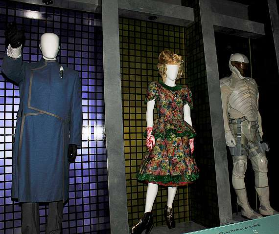 Costume at The Hunger Games: The Exhibition grand opening