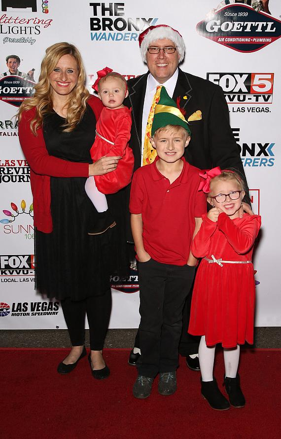 Comedy Magician Adam London and family