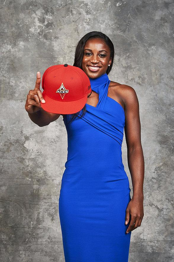 Las Vegas Aces Select Jackie Young, the No. 1 Pick During the WNBA Draft