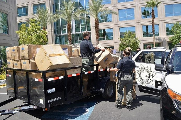 10,000 Local Students to Benefit from LVMPD Back to School Initiative