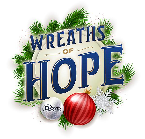 Boyd Gaming Spreads Holiday Cheer With 'Wreaths of Hope' $60,000 Prize Pool to Benefit 35 Southern Nevada Charities