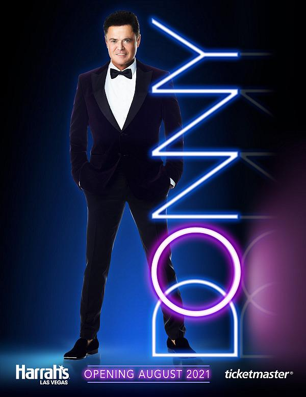Donny Osmond Returns to the Las Vegas Stage With First-Ever Solo Residency at Harrah's Las Vegas