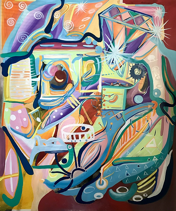 """""""Playing with Fate"""" - A Solo Painting Fine Art Exhibition by Artist Rachel Berkowitz"""