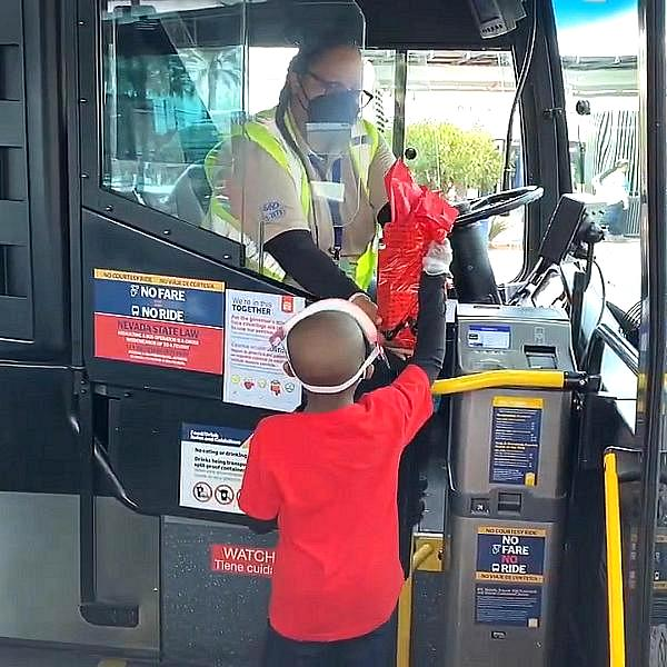 """RTC Teams up With Local Child Celebrity to Surprise Bus Drivers With a Special """"Thank You"""""""