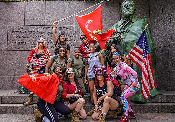 """Veterans and Active Duty Service Members to Take to the Streets for the """"Irreverent Warriors Silkies Hike"""""""