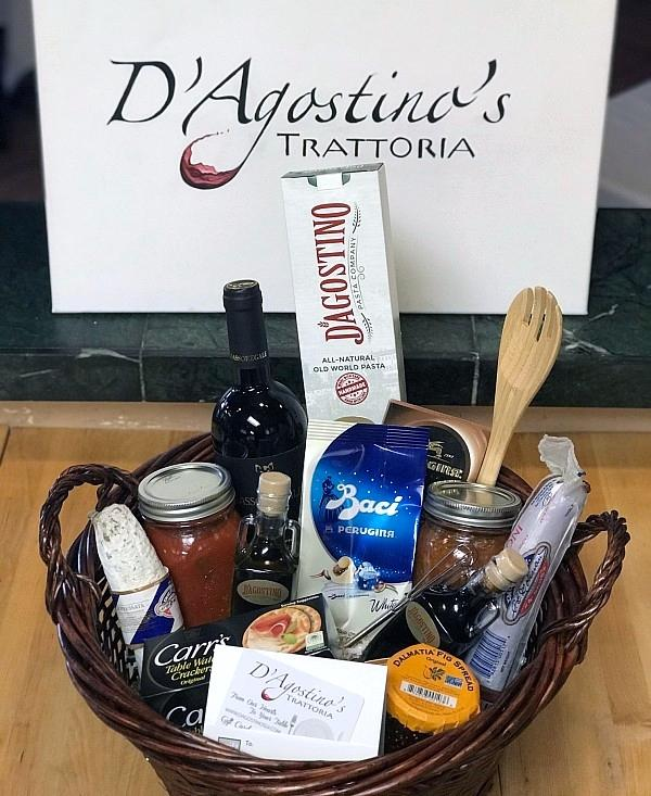 D'Agostino's Trattoria Offers Holiday Gift Baskets, In-Dining Specials, and Signature Festive Drink to Ring in the Season