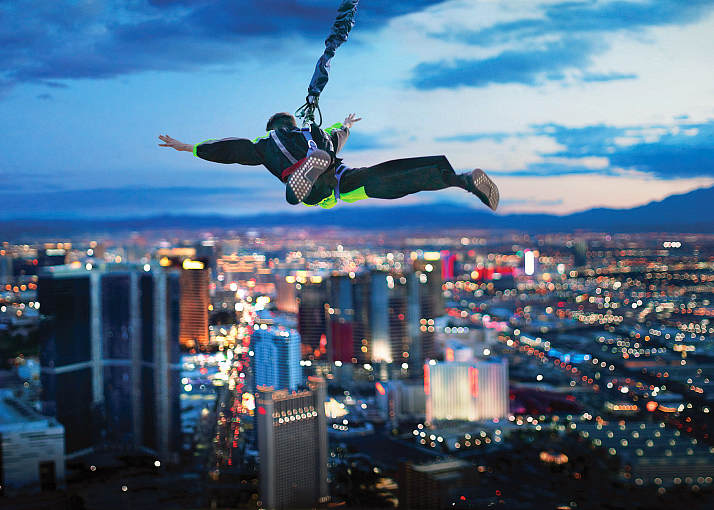The STRAT Hotel, Casino & SkyPod Offering One Lucky Winner the Chance to Jump Into 2021 with Midnight Leap from SkyJump