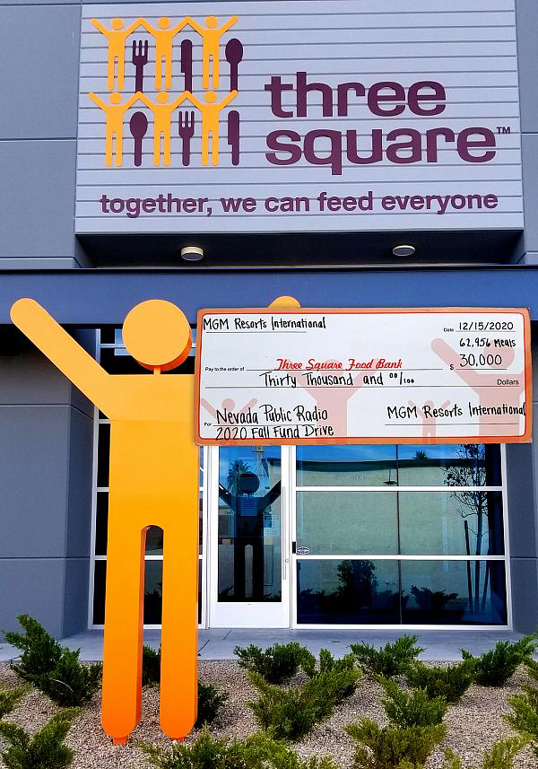 MGM Resorts International Teams Up with Nevada Public Radio to Provide Nearly 63,000 Meals to Three Square Food Bank