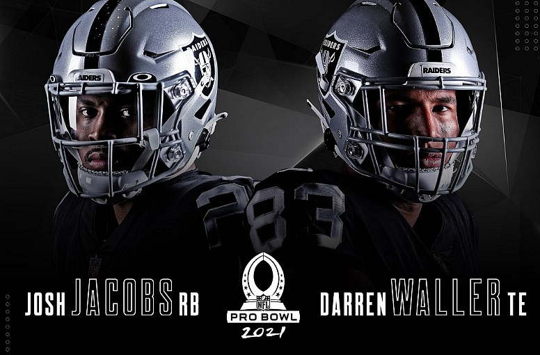 Josh Jacobs and Darren Waller Named to Pro Bowl