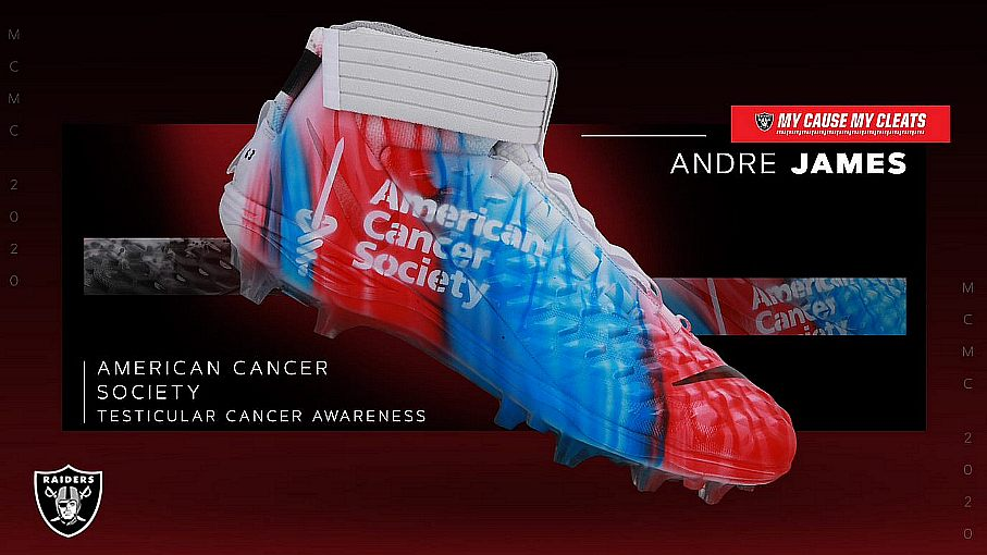 Raiders Again Embrace My Cause My Cleats Campaign
