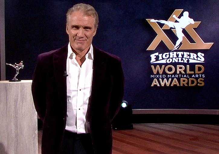 Dolph Lundgren Returns to Host 12th Annual Fighters Only World MMA Awards on CBS Sports Network Dec. 26
