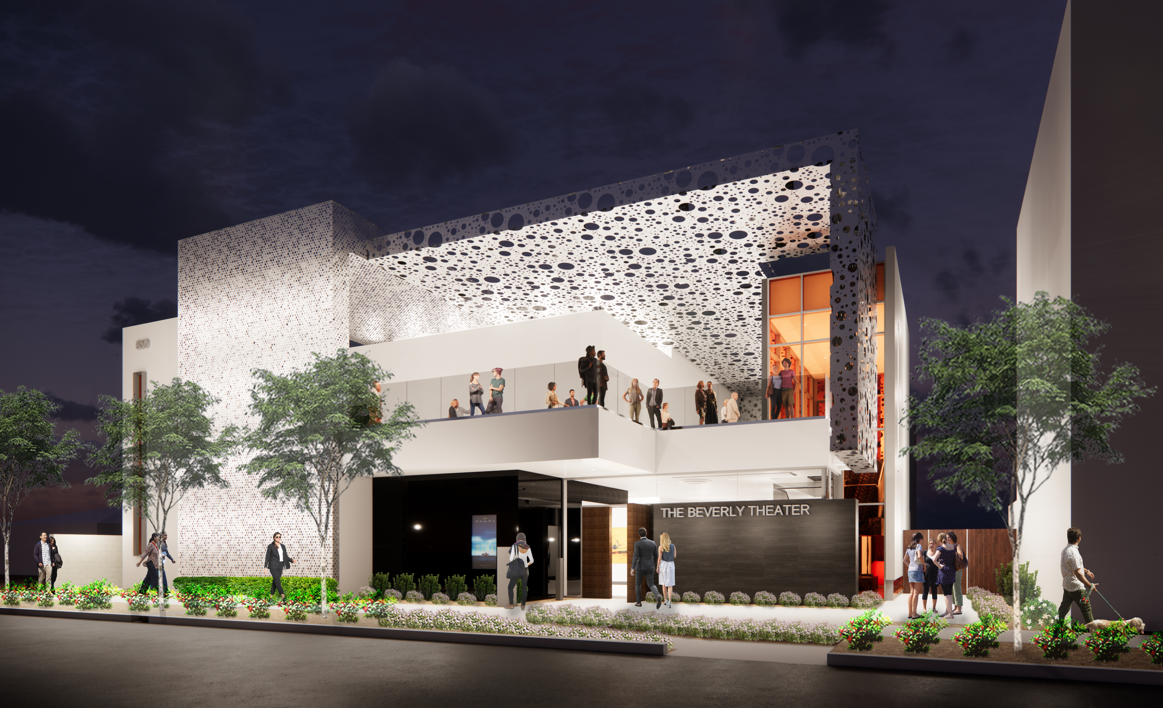 Rendering of the Beverly Theater coming to Downtown Las Vegas