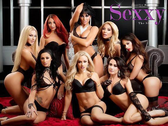 Jennifer Romas and the Cast of Sexxy